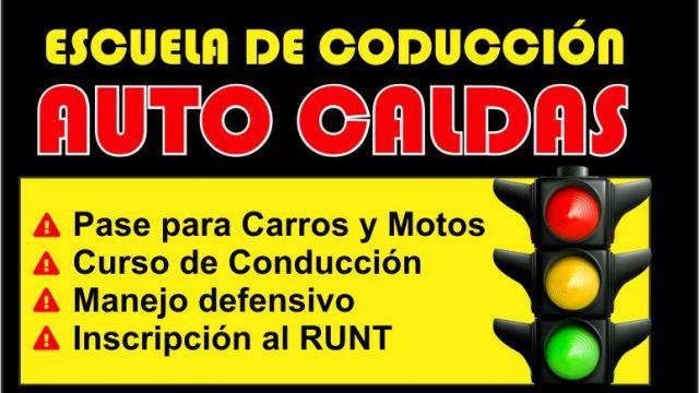 AUTO CALDAS, Escuela de conducción en La Dorada
