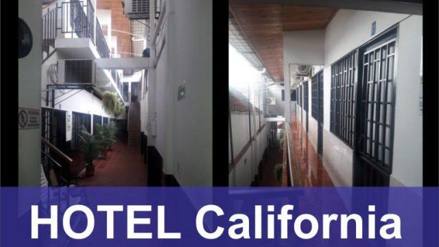 Hotel California en La Dorada.