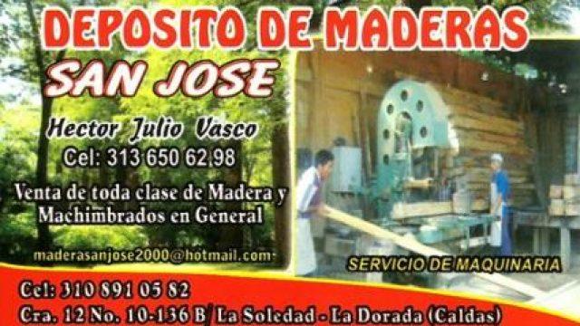 DEPOSITO DE MADERAS  SAN JOSÉ