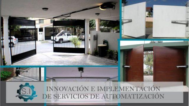 S.I, Soluciones Industriales. Puertas Automáticas