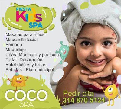 COCO Spa La Dorada. Fiesta Kids Spa