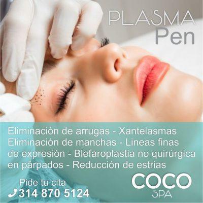 COCO Spa La Dorada. Plasma Pen