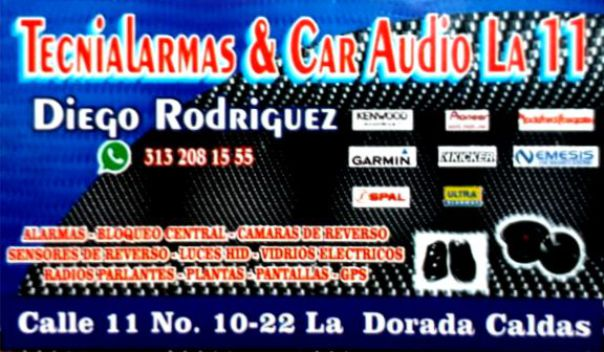 Tecnialarmas y Car Audio La 11