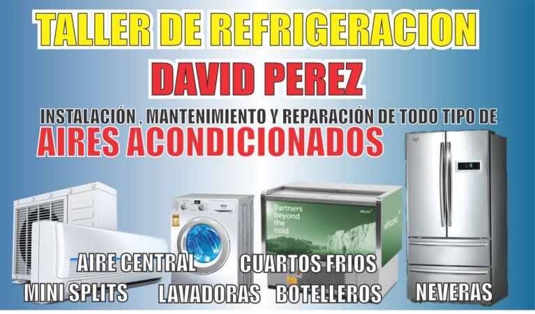 DAVID PEREZ, Taller de Refrigeración y Aires Acondicionados en La Dorada