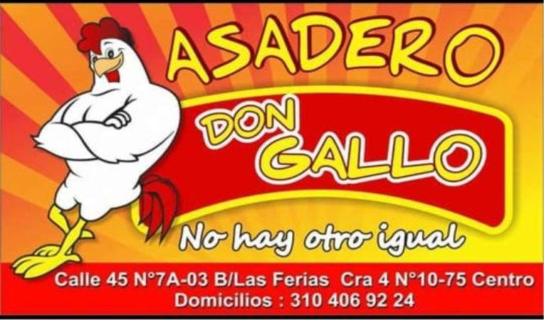 Asadero Don Gallo, El Mejor Pollo Asado en La Dorada.