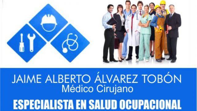Salud Ocupacional Dr. Jaime Alberto Alvarez
