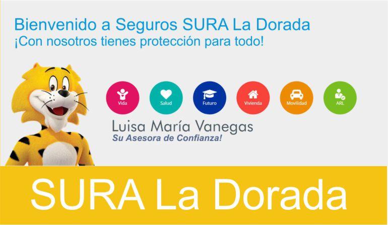 Oficina SURA La Dorada, Luisa María Vanegas.