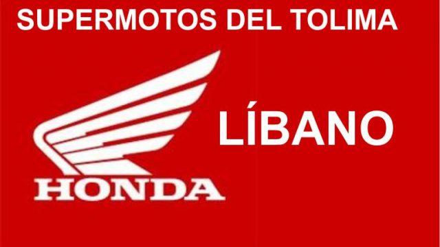 Supermotos del Tolima HONDA – Agencia Líbano Tolima