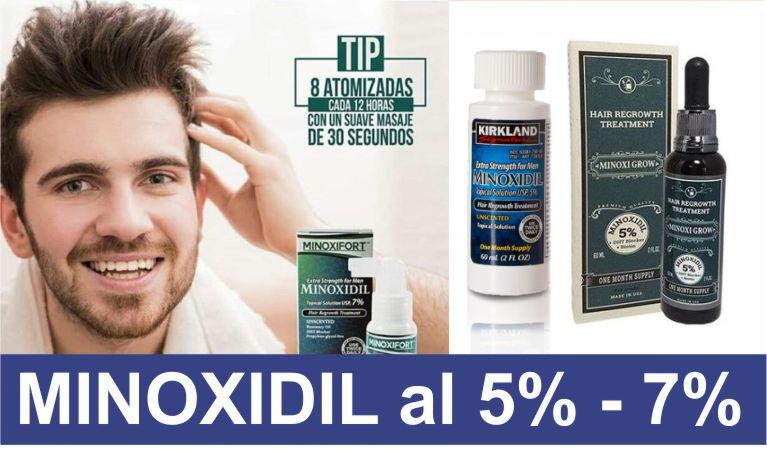 Minoxidil, Minoxifort y Minoxigrow