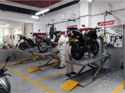 Centro de  Servicio Motos Honda La Dorada.