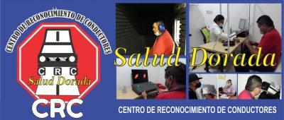 CRC, Centro de Reconocimiento de Conductores. Salud Dorada