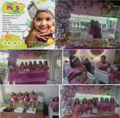 COCO Spa La Dorada. Fiesta Spa para tus princesas