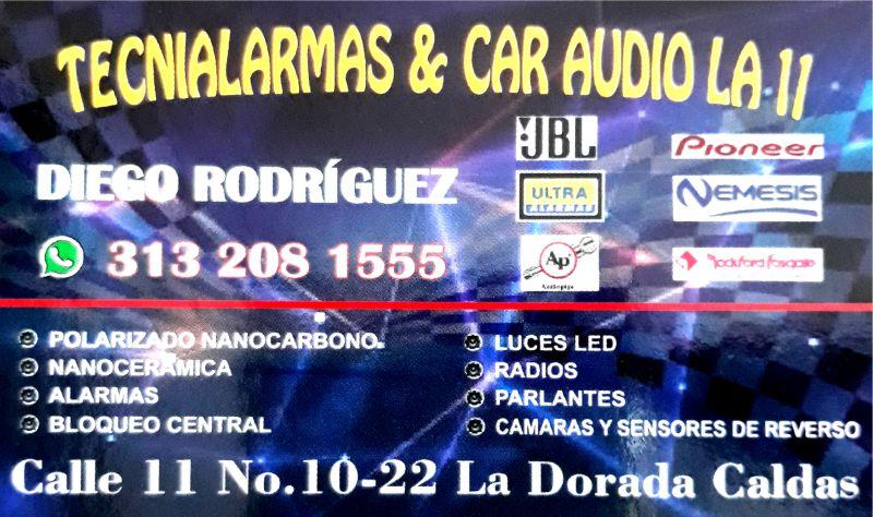 Tecnialarmas y Car Audio La 11